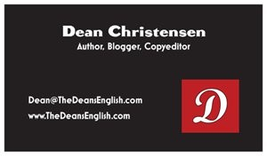 Welcome to The Dean's English Website andBlog