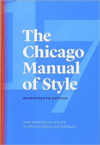 Chicago Manual 17th cover