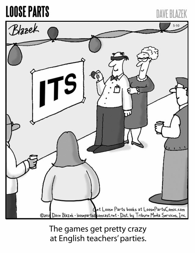 English Teachers Parties